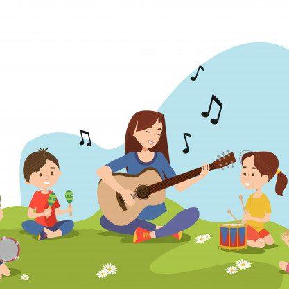children-teacher-sitting-grass-playing_74855-5764
